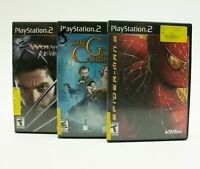 PS2 GAME LOT: Golden Compass SPIDER-MAN 2 Wolverines Revenge