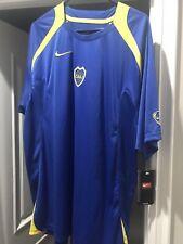 Nike XL Boca Juniors Training Kit Shirt Jersey Camiseta Vintage Total 90 NWT