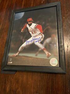 Bruce Sutter signed Cardinals 8x10 Photo Framed HOF 06 (82 World Series)