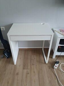 Schreibtisch micke Weiß