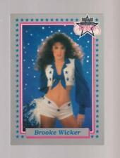 1992 Enor Dallas Cowboys Cheerleaders #39 Brooke Wicker card