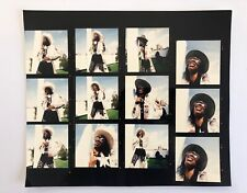 Rare Bootsy Collins C41 contact sheets by Ray Lego for SPIN Mag