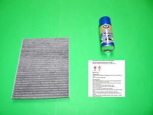 Innenraumfilter / Aktivkohle Pollenfilter + Klimareiniger Ford Fiesta VI