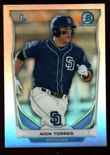 NICK TORRES MINT SAN DIEGO PADRES ROOKIE REFRACTOR RC SP 2014 BOWMAN CHROME #112