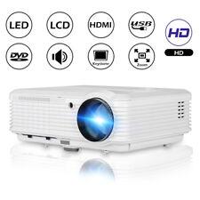 CAIWEI 1080p LED Video Beamer HD Projektor Heimkino Filme Fußballspiel USB HDMI