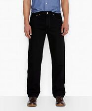 Levi's Mens BIG & TALL 550 Relaxed Fit Jean Black Blue 01550-4886 01550-0260