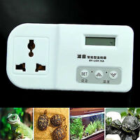 Thermostat Digital For Reptile Lizard Snake Heat Mat Lamp Incubator Aquarium Lat