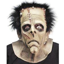 Horror Monster Mask Rubber Overhead Masks With Hair Halloween Fancy Dress