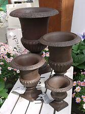 Französische Vase Amphore Pflanzgefäß aus Gusseisen Blumentopf Pflanztopf  NEU