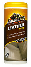 Armor All Leather Wipes Pack Of 25 Wipes Interior Car Upholstery Seats Pouch