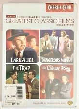 TCM Greatest Classic Films Collection Charlie Chan DVD 4-Disc Set New