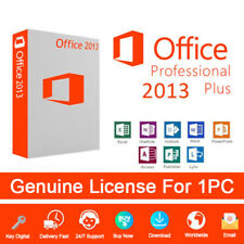 Office 2013 Professional Plus License Key Activation 32 and 64 bit Genuine
