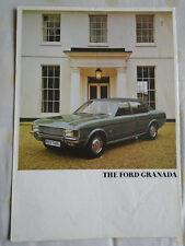 Ford Granada range brochure c1973