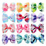 12 Colors Girl Cute DIY Ribbon Bow Clip Hairpin Hair Bow Hair Clip Headwear Gift