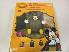 Disney Mickey Mouse Halloween Pumpkin Decorating Kit (7pc) Push-In Pieces