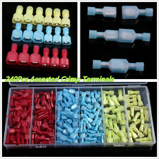 240 X Red&Yellow&Blue Nylon Car Crimp Wire Connectors Terminals Assortment Kits