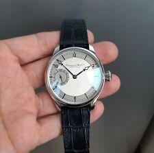 IWC Schaffhausen Custom Made 44mm Steel Case Watch Cal C97 Two Tone Dial TOP