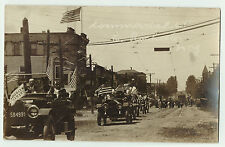 RPPC - Firemen - East Rochester NY 1908 Real Photo Postcard