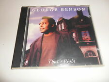CD  George Benson - That'S Right