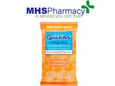Quickies Desodorante Toallitas 12 por paquete