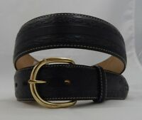 Justin RUSTY SPUR Leather Belt  Size 34  C12153  Made in USA NWT