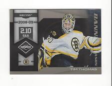 2010-11 Limited Banner Season #20 Tim Thomas Bruins  /199