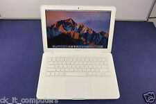 "Apple MacBook Unibody 13"" 2.4GHz/ 250GB / 4GB / Good Condition OSX Sierra"