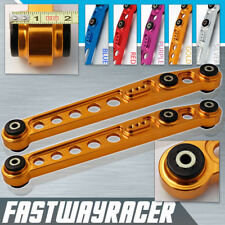 JDM EK SI EK9 EM D15 D16 D16A D16Z Gold Aluminum Rear Lower Control Arm Arms LCA