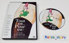 DVD Tout ça Pour ça - Fabrice LUCHINI - Alessandra MARTINES