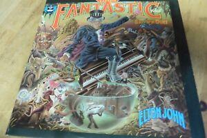 LP Elton John Captain Fantastic MCA 2142 MCA734 1975 w13
