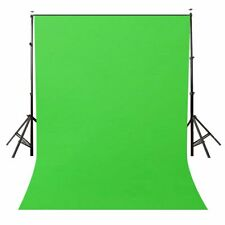 LYLYCTY Background 5x7ft NonWoven Fabric Solid Color Green Screen Photo Backdro