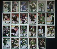 1991-92 Topps Minnesota North Stars Team Set of 23 Hockey Cards