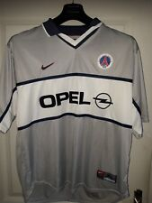 MAILLOT GRIS PSG NIKE OPEL XL 1999 2000 Vintage