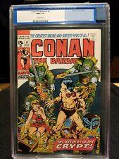 CONAN THE BARBARIAN #8 - CGC BLUE NM+ 9.6 OW - B. SMITH - $299 BIN !