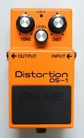 BOSS DS-1 Distortion Guitar Effects Pedal MIJ 1981 #113 with Box Free Shipping