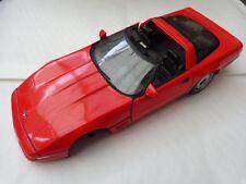 1/18 MAISTO CLASSIC 1992 RED CORVETTE ZR-1 DIECAST MODEL CAR