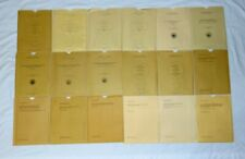 New ListingHuge Lot of 18 Vintage Us Geological Survey Maps, Charts, Etc., 1955 to 1991