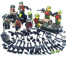 SET American Armies Ww2 Vietnam War Field Battle Figures Weapon Lego Toys Custom