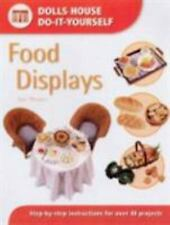 DOLLS HOUSE DO-IT-YOURSELF FOOD DISPLAYS * SUE HEASER * NEW