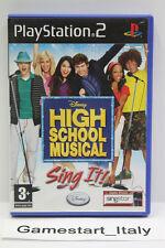 HIGH SCHOOL MUSICAL SING IT! (PS2) - GIOCO USATO PERFETTAMENTE FUNZIONANTE - PAL