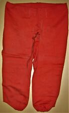 VINTAGE RARE FOOTBALL PANTS - SCARLET RED EXCELLENT CONDITION PANTS