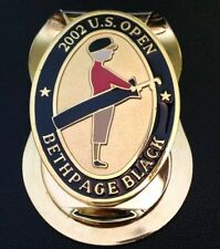 Bethpage Black Money Clip of the 2002 102nd U.S. Open Won by Tiger Woods New!