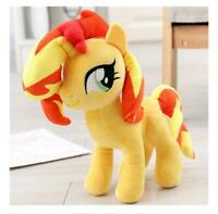 Sunset Shimmer horse white soft stuffed plush doll dolls toy statues gift new