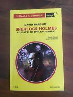 Giallo Mondadori Sherlock 44 David Marcum I delitti di Briley House