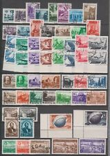 Russia 1949, 91 old stamps, used, 2 scans