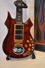 GRATEFUL DEAD JERRY GARCIA ROSEBUD MINIATURE REPLICA GUITAR AXE HEAVEN