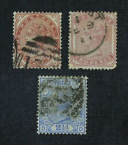 CKStamps: Great Britain Stamps Collection Scott#80 81 82 Used