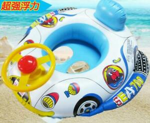 Kinder Babyboot Schwimmreifen Sonnenschutz Schwimmring Schwimmsitz Schwimmhilfe
