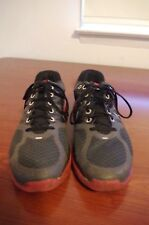 Nike Lunarglide+ 2 Black Red Running Shoes Sneakers Size 9.5 407648-066