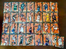 Complete Fleer 96-97 Hardwood Leader insert set - NBA Basketball cards